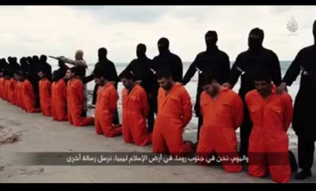 Coptic Christians beheaded